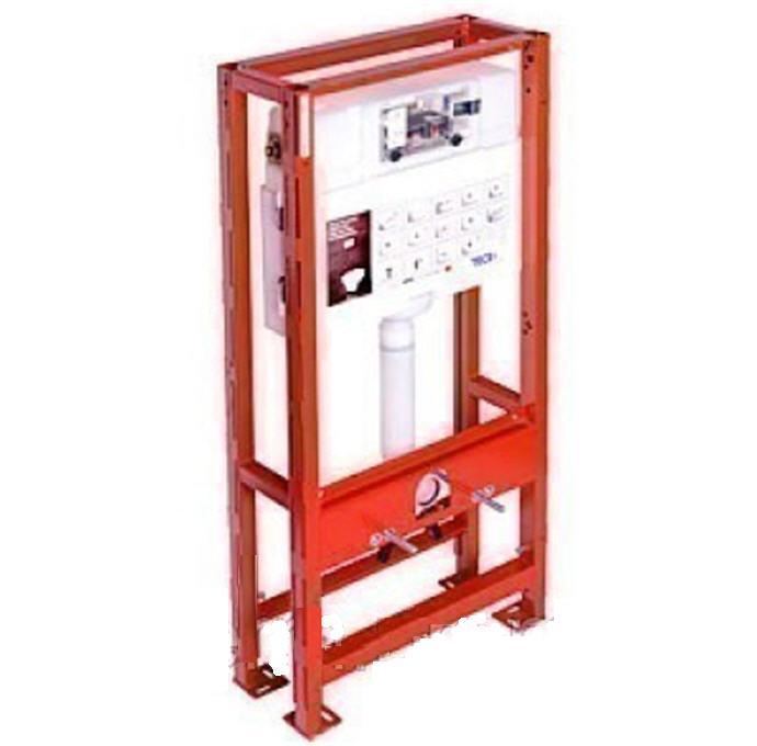 Купить Застенный модуль с двойной рамой для подвесного унитаза TECE 9.300.031