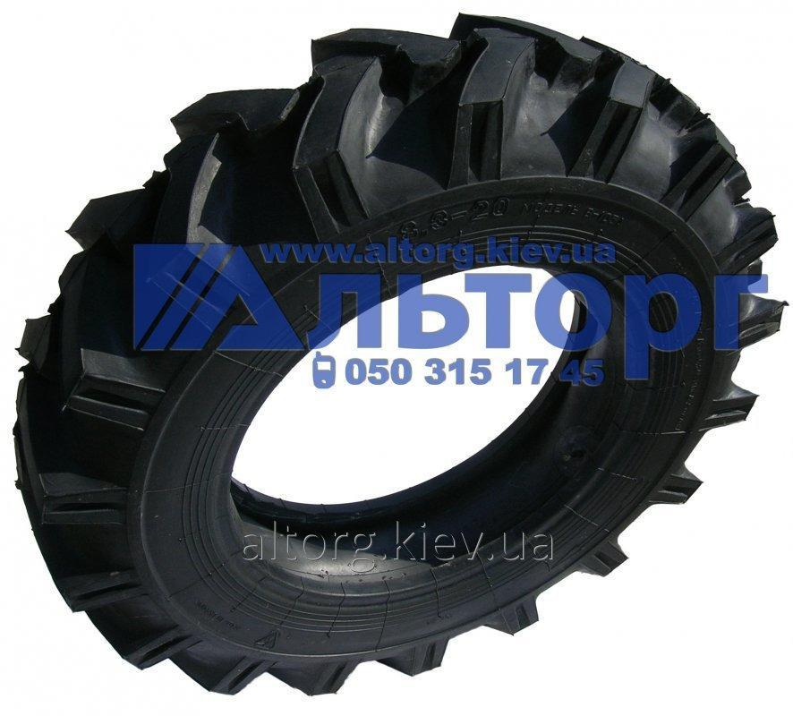 The tire B-105A 8.3-20 on the T-40 tractor