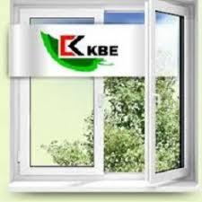 Однокамерное двустворчатое окно KBE