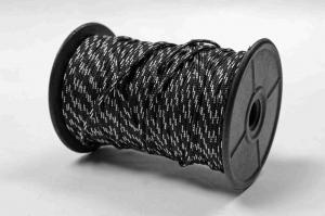 ПОДВОДНАЯ ОХОТА Лини, буйрепы Линь Omer плетеный пестрый 2мм (за метр)