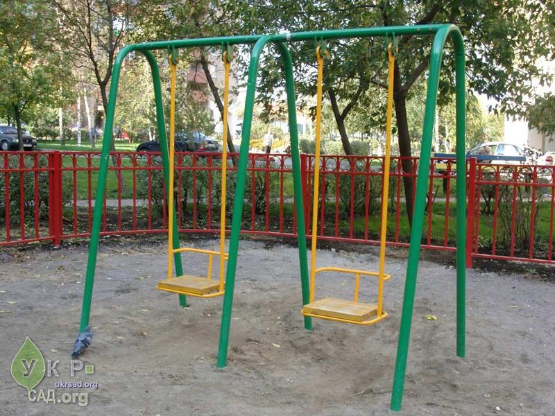Детские качели для детского сада своими руками