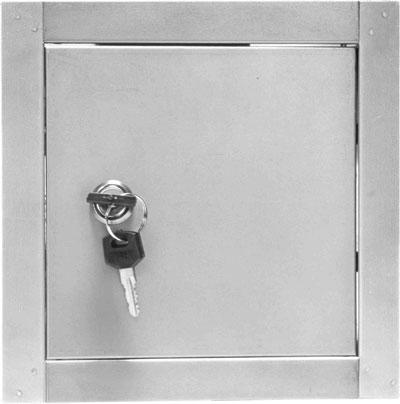 Дверцята ревізійні-металеві на замок