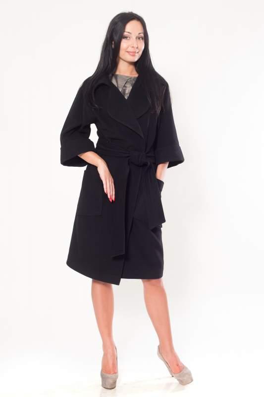 65d0a03dfb8 Пальто черное кашемировое женское купить в Симферополе