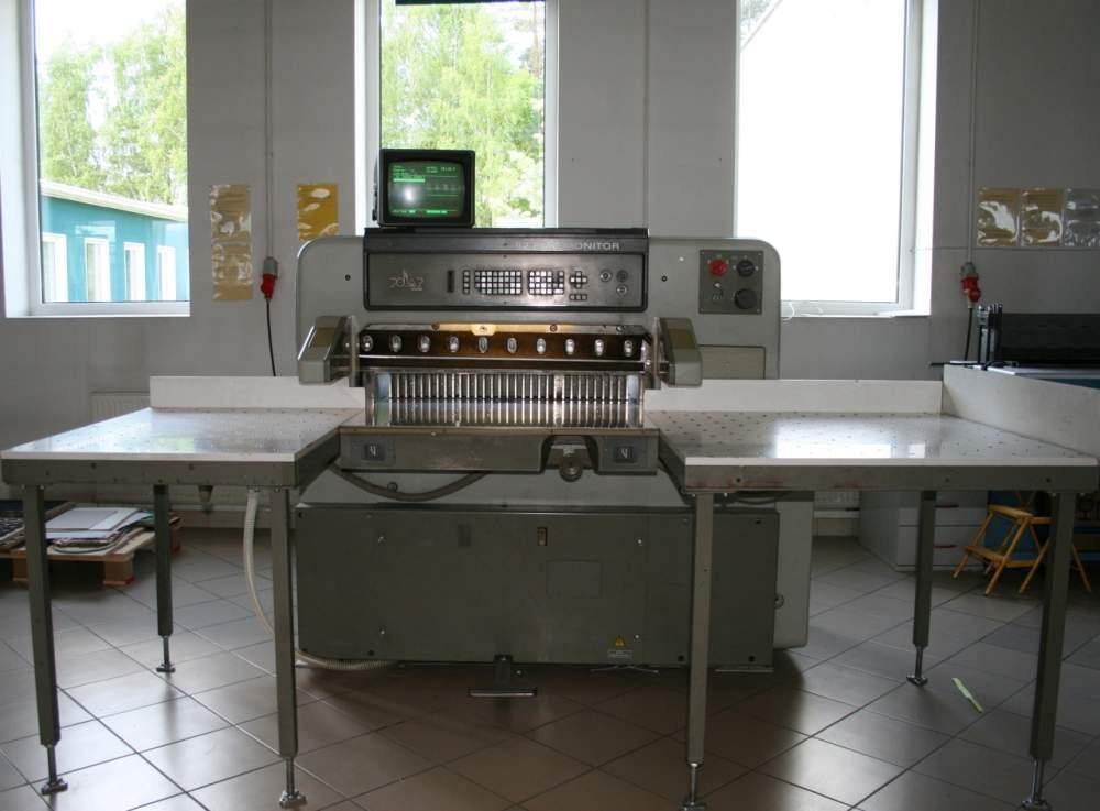 Купить Одноножевая резальная машина Polar 92 EMC MON