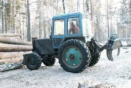 Гидрозахват для трелевки леса