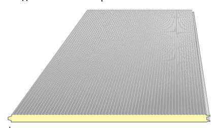 Buy Sandwich panel microwave wall, roofing