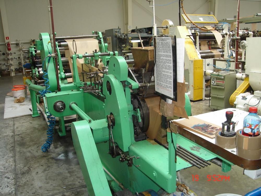 Купить Линия для пр-ва бумажных пакетов Holweg RS-1