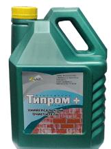 Очиститель от соли на кирпиче Типром ОФ, Типром ОЦ,