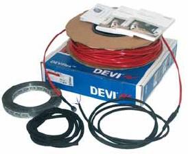 Devi. Набір для системи Тепла підлога з нагрівальним кабелем, з DEVIflexTM DTIP - 18