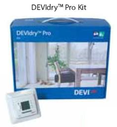 """Devimat.Нагрівальні мати і терморегулятори для """"сухої """" установки під ламінат , паркетну дошку DEVIdryTM DEVIdryTM 100"""