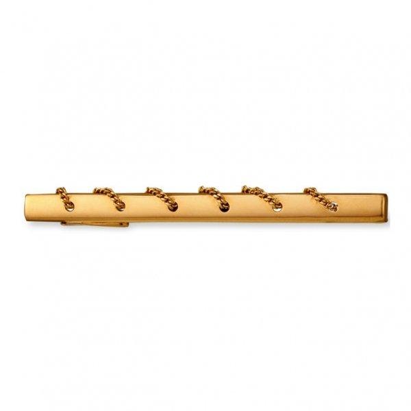 Ювелирный зажим для галстука из красного золота 585 пробы 140 20 091