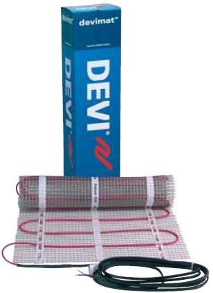 Deviflex.Теплый пол электрический на основе мата DEVImatTM DTIR-150