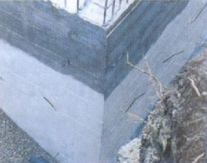 Штукатурка гидроизоляционная Текмадрай, защита стен от влаги в подвале