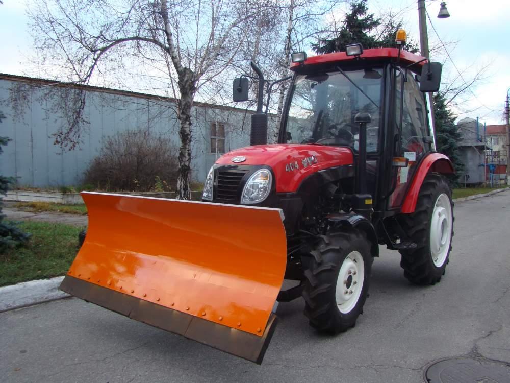 Средства механизации для зимнего содержания дорог, отвал для уборки снега
