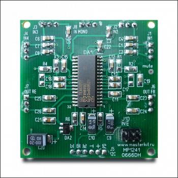 Arduino MP1241A tembroblok
