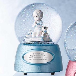 Снежный шар Молитва ребенка