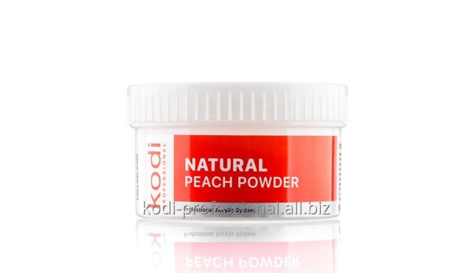 Natural Peach Powder Kodi professional 60 gr Базовый акрил натуральный персик