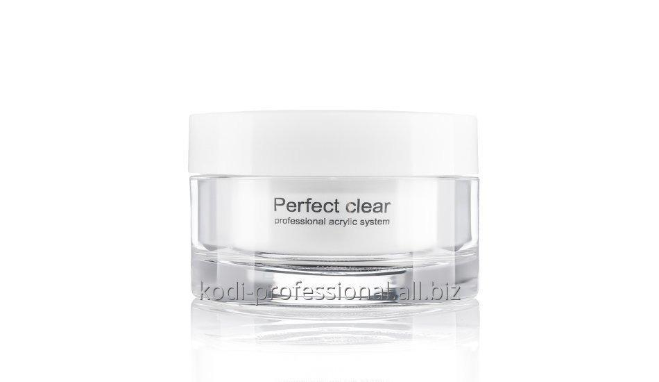 Perfect Clear Powder Kodi professional 40 gr Базовый акрил прозрачный