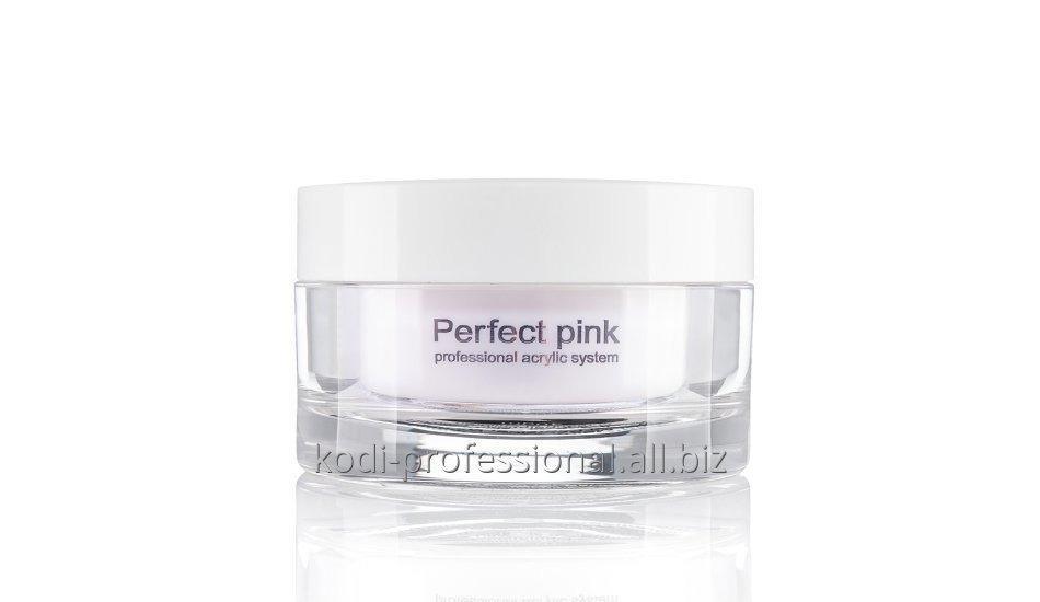 Perfect Pink Powder Kodi professional 40 gr Базовый акрил розово-прозрачный