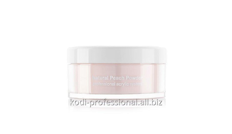 Natural Peach Powder Kodi professional 22 gr Базовый акрил натуральный персик