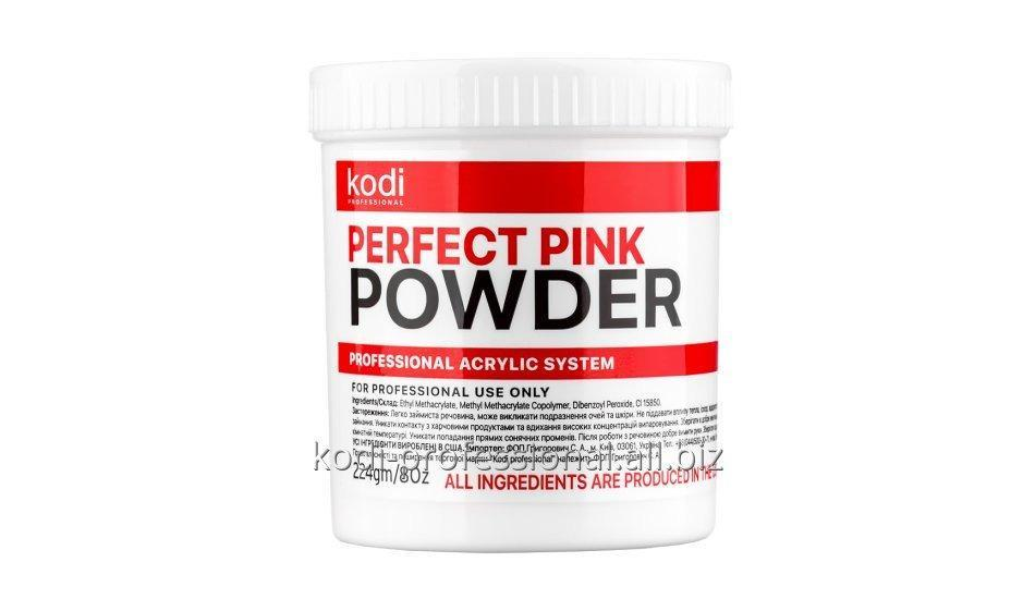 Perfect Pink Powder Kodi professional 224 gr Базовый акрил розово-прозрачный