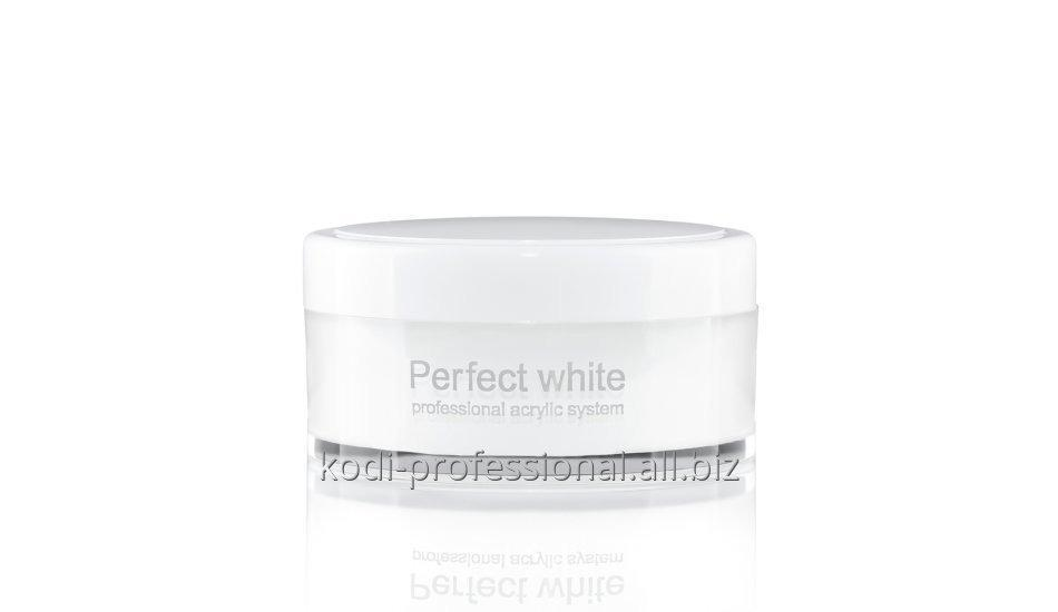 Perfect White Powder Kodi professional 22 гр. Акрил базовый белый