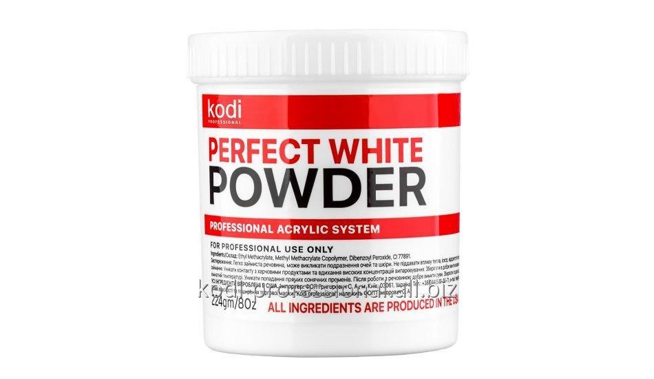Perfect White Powder Kodi professional 224 гр. Базовый акрил белый