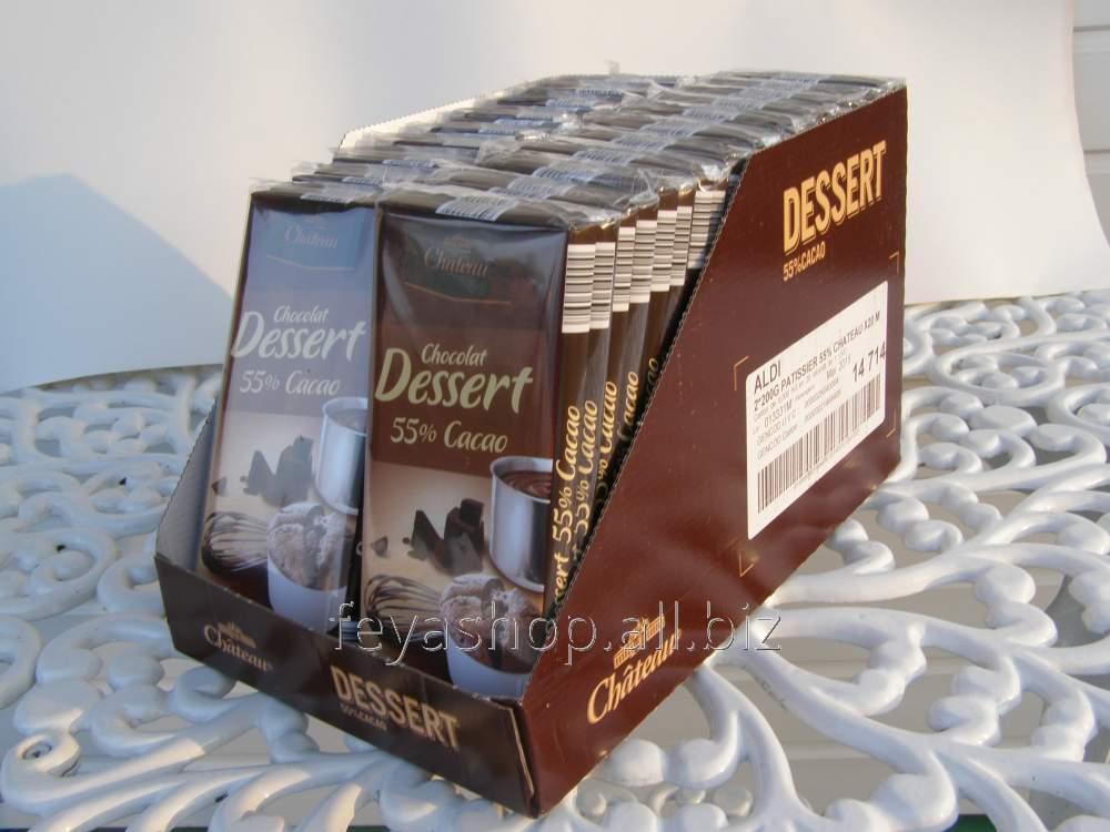 Черный шоколад Chateau 55% какао