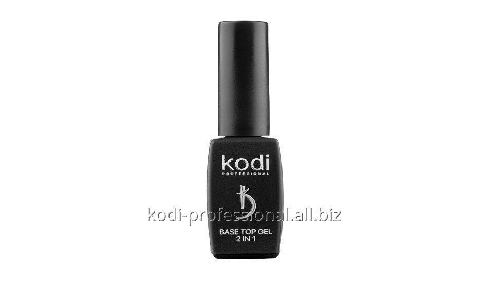 Base Top Kodi professional 8 ml Основа и финиш для гель лака 2 в 1
