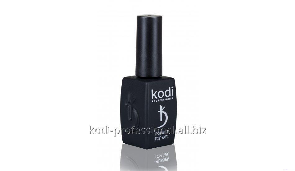 Каучуковое верхнее покрытие для гель лака Kodi professional 12 мл