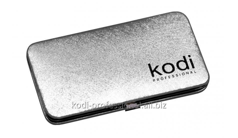 Футляр для пинцетов Kodi professional, цвет Серебро