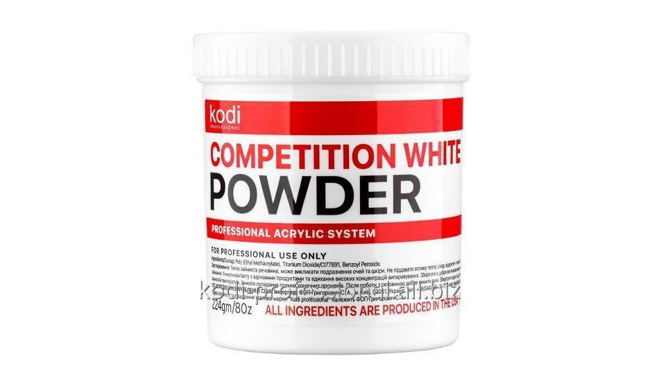 Competition white Kodi professional 224 гр. быстроотвердеваемый белый акрил