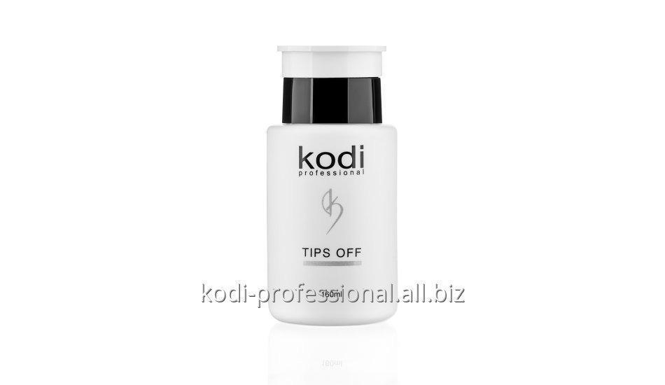 Купить Tips Off Kodi professional 160 ml Жидкость для снятия искусственных ногтей