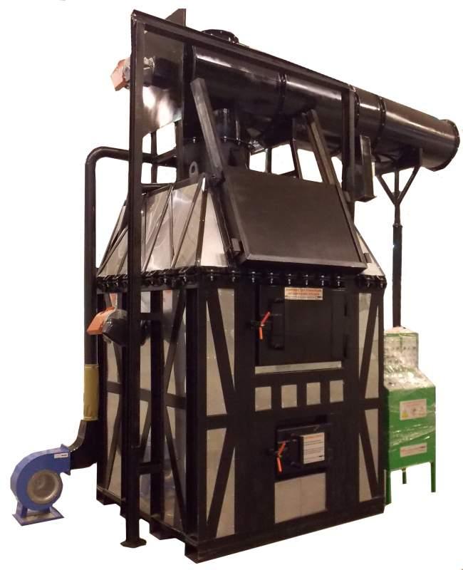 Утилізатор термічний для небезпечних і промислових відходів УТ3000