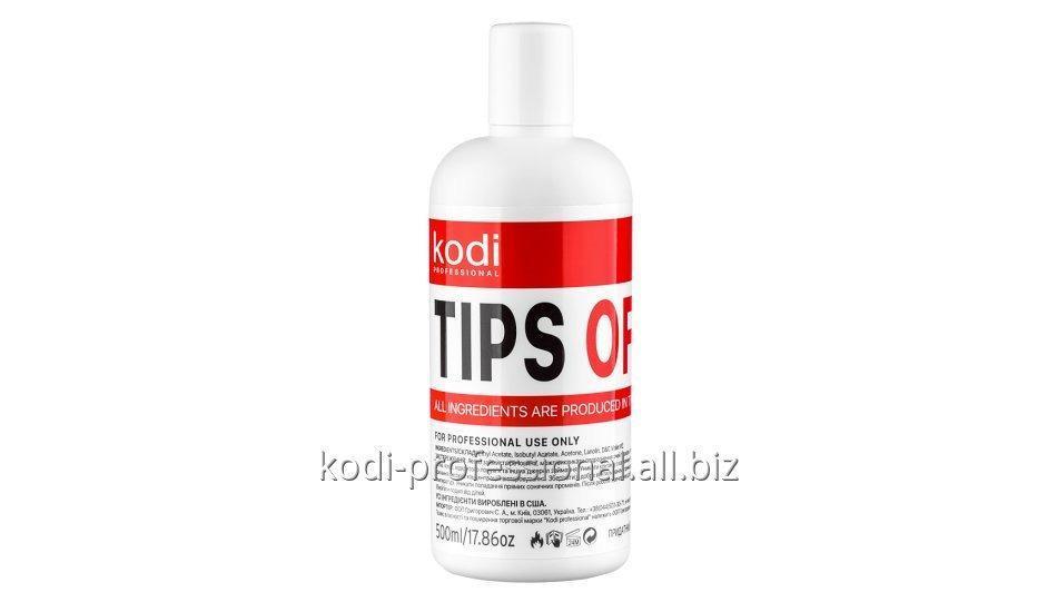 Tips Off Kodi professional 500 ml Жидкость для снятия искусственных ногтей