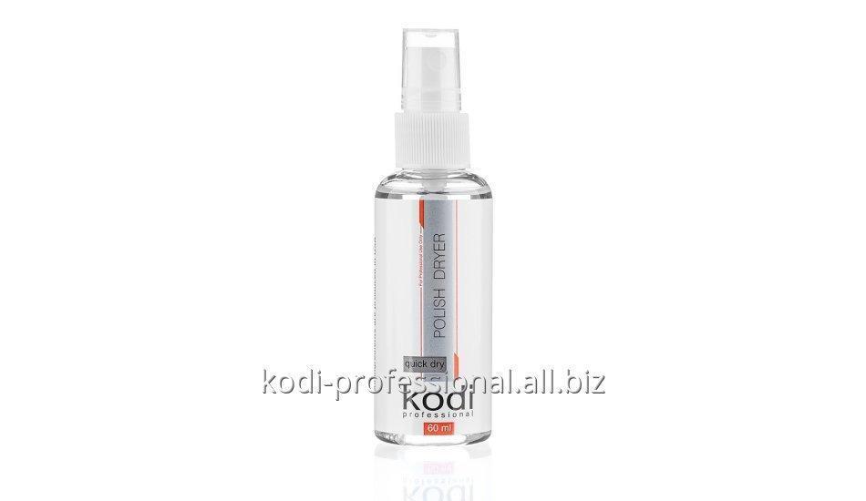 Спрей сушка-закрепитель для лака 60 мл. Kodi professional