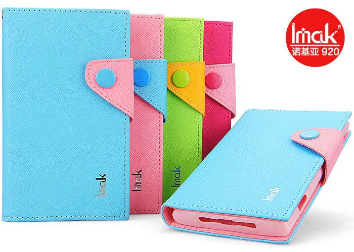 Buy Cover of iMAK Cross grain for Nokia Lumia 920 (4 colors)