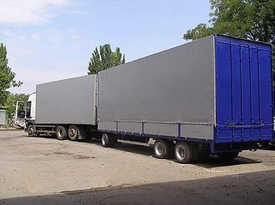 Тенты и каркасы на грузовые автомобили