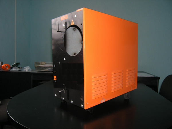 Enclosures for equipment welding semiautomatic