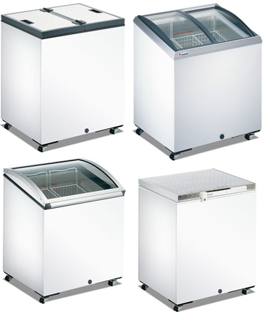 Buy Rent of freezing chests in Kiev. Hire of the freezer, freezer for ice cream, ice