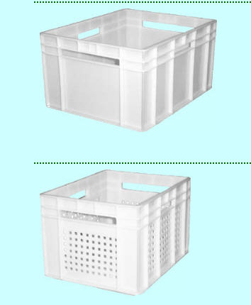 Buy Boxes from plastic, continuous, punched