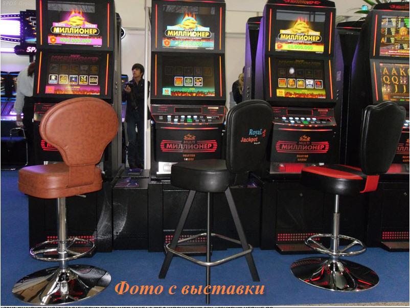 Стулья для игровых залов SPDS Group, мебель индустрии развлечений