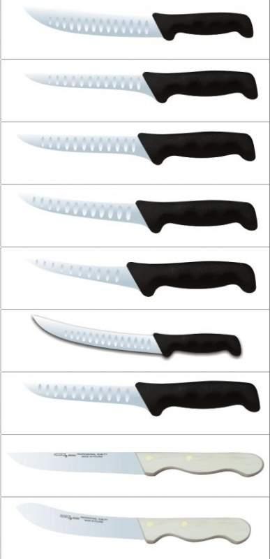 Производственное оборудование для мясопродуктов. Ножи для обвалки мяса