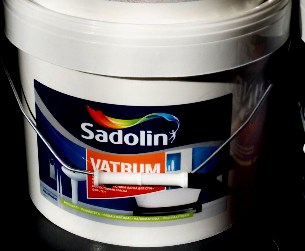 Купити Фарба для вологих приміщень садолин ватрум биндо40 sadolin bindo 40