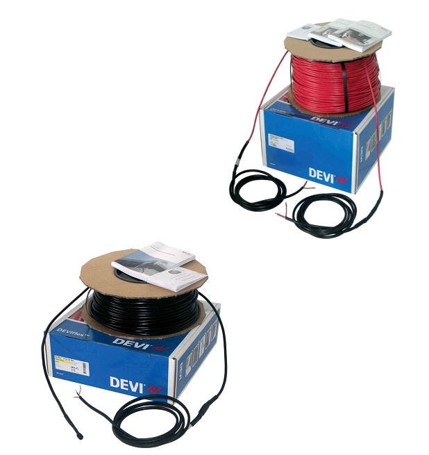 Deviflex.Нагрівальний кабель двожильний для дахів, ринв і водостоків DEVIflexTM DTCE-20, DTCE-30
