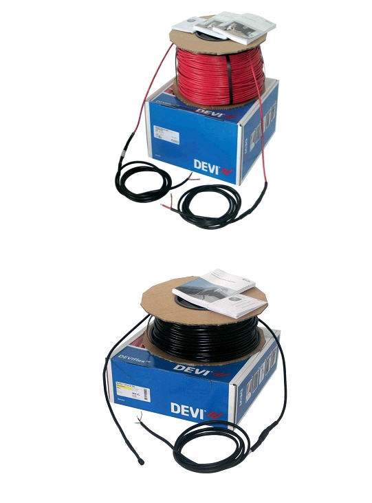 Devi DTCE-30, DTCE-20. A twin-core heating cable for roofs, trenches and drains of DEVIflexTM DTCE-20, DTCE-30