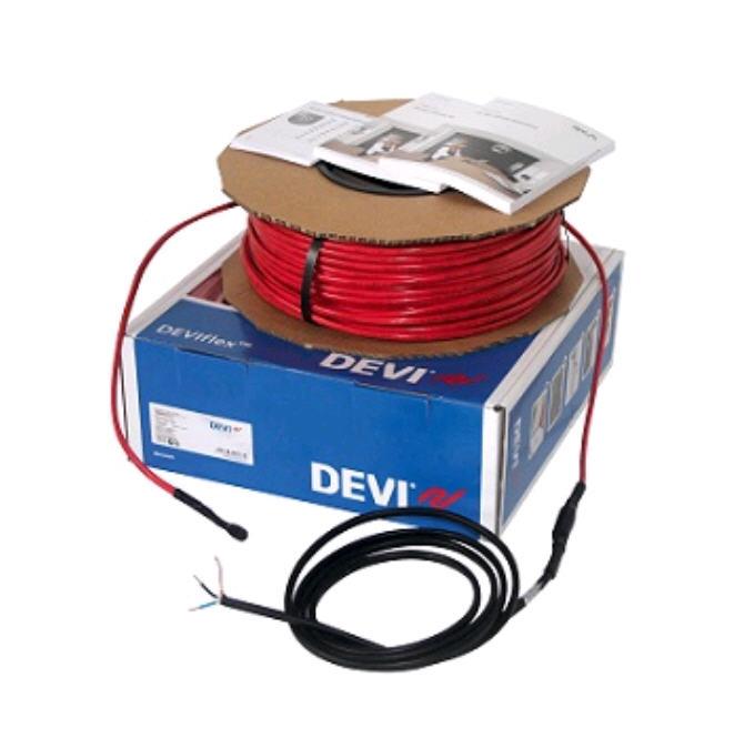 Devi. Нагревательный кабель для теплого пола, снеготаяния и антиобледенения DEVIflexTM DTIP-10