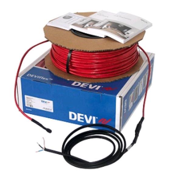 Deviflex.Нагрівальний кабель для теплої підлоги, сніготанення та проти намерзання льоду DEVIflexTM DTIP-10