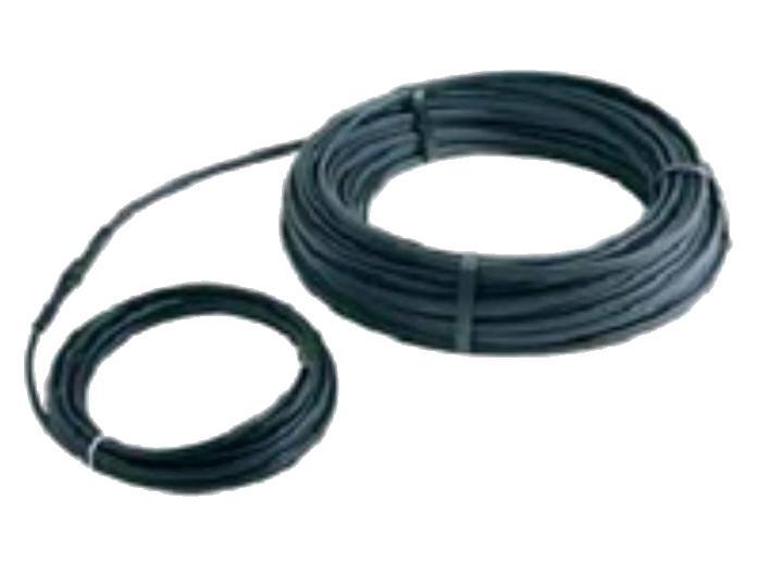 DEVIiceguard.Саморегулюючі нагрівальні кабелі для обігріву DEVI-Iceguard TM 18 18 Вт / м при 0 ° С Чорний