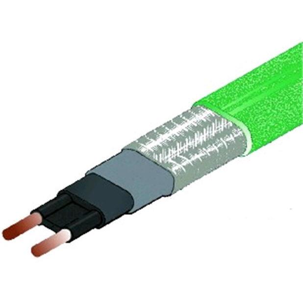DEVI-Hotwatt. Саморегулирующиеся нагревательные кабели для обогрева трубопроводов DEVI-HotwattTM 55 8 Вт/м при 55 °С Зеленый